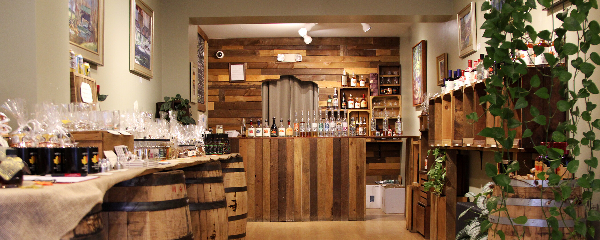 Smugglers' Notch Distillery & Vermont Distillers
